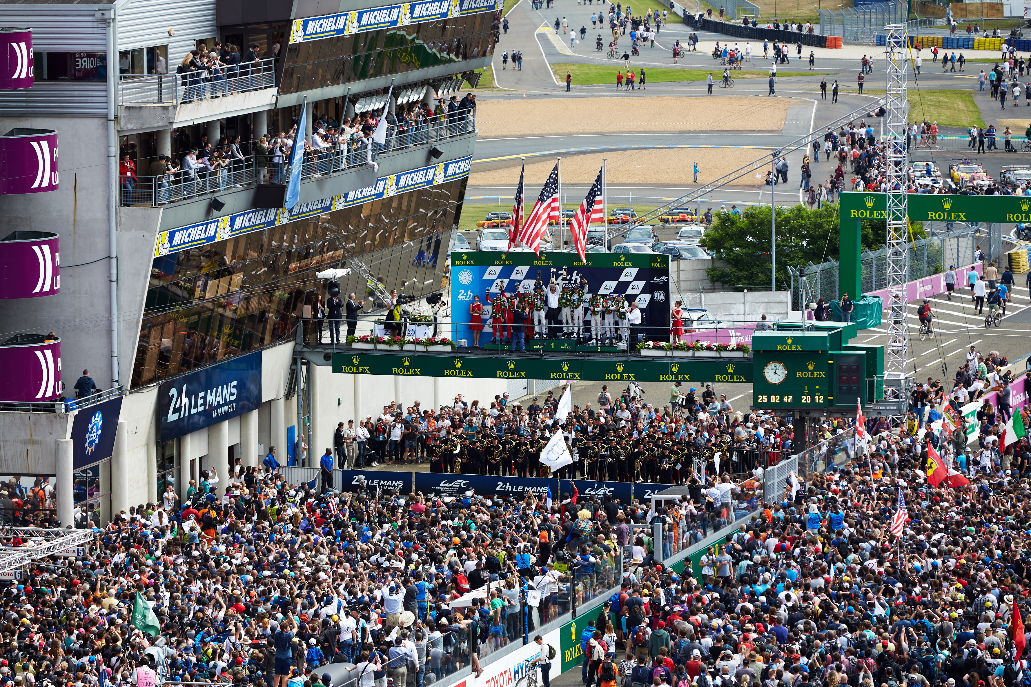 puFrom the 2016 World Endurance Championship, Le Mans 24 hours,Le Mans, France, on June 19, 2016. Dominic James / Drew Gibson