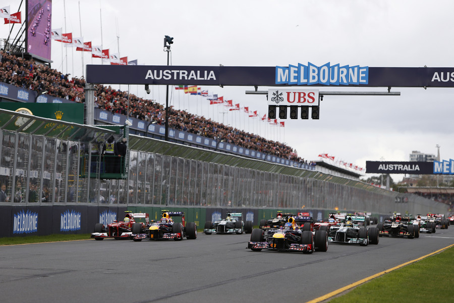 2013 Australian Grand Prix - Sunday