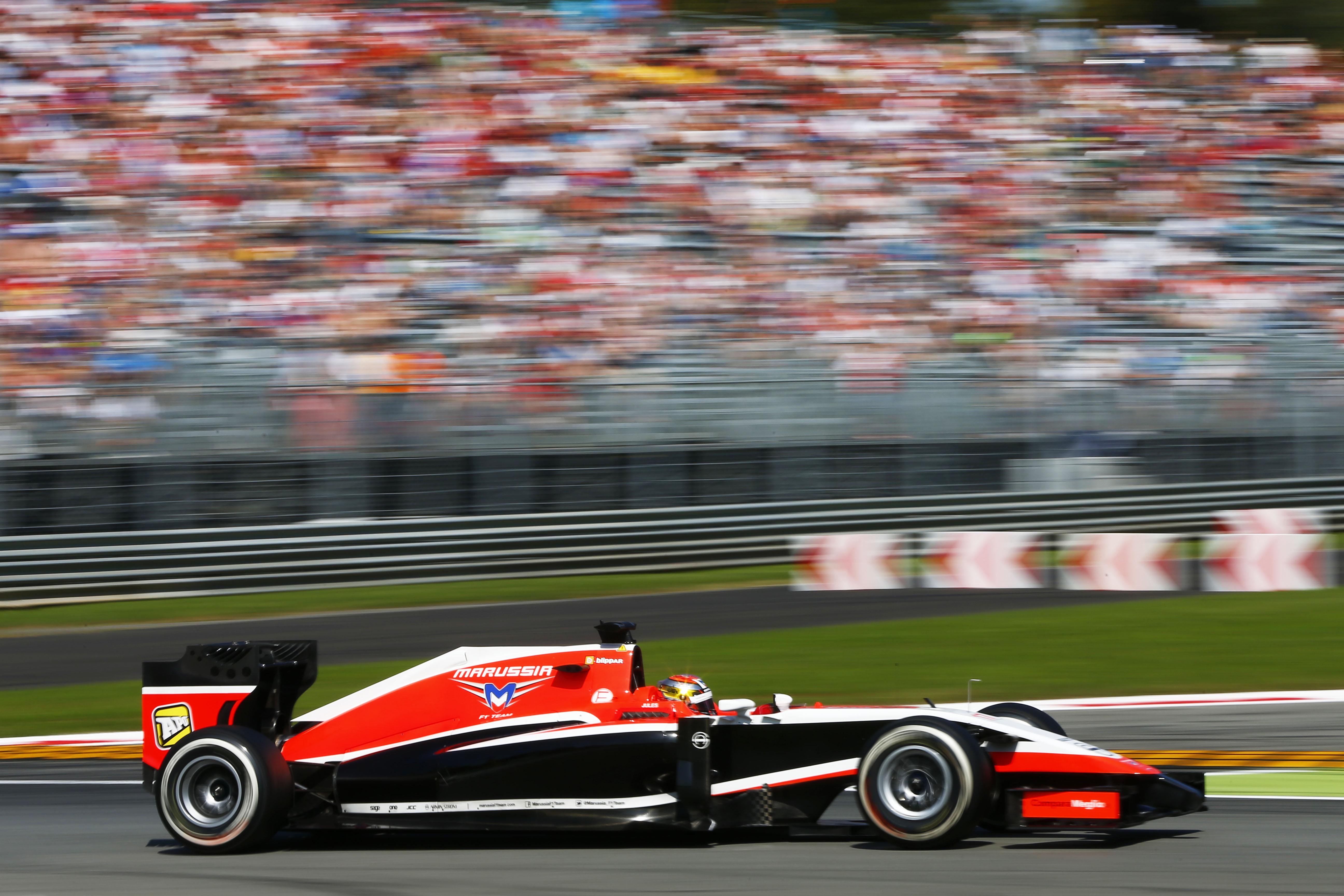2014 Formula One Italian Grand PrixAutodromo Nazionale Monza, Italy, 4th - 7th September 2014. Jules Bianchi, Marussia MR03 Ferrari, Action, World Copyright: © Andrew Hone Photographer 2014.Ref:  _ONZ0046
