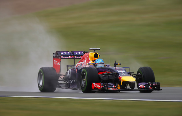 Silverstone, Northamptonshire, England. Saturday 05 July 2014. Sebastian Vettel, Red Bull Racing RB10 Renault. World Copyright: Glenn Dunbar/LAT Photographic. ref: Digital Image _W2Q6127