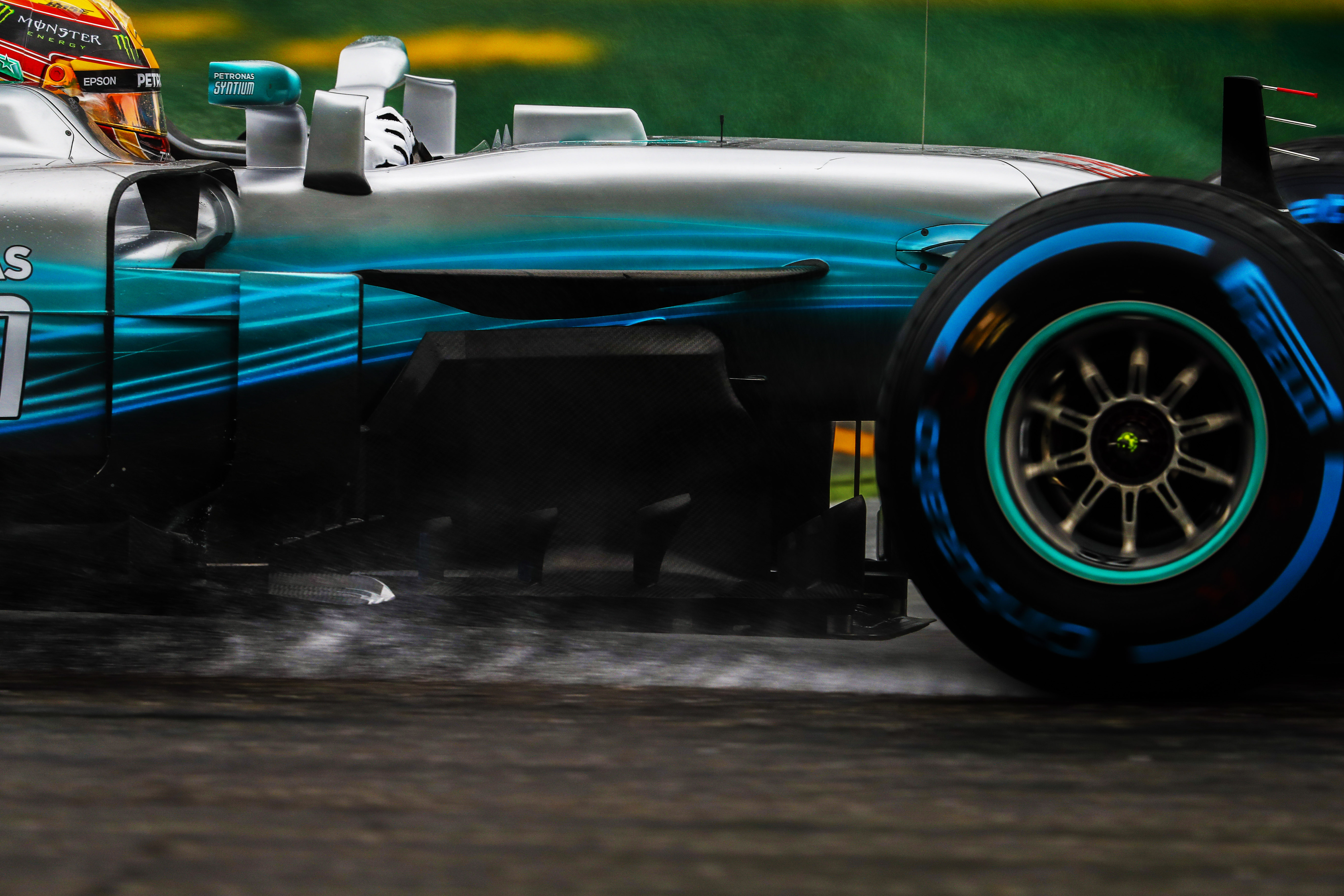Autodromo Nazionale di Monza, Italy. Saturday 02 September 2017. Lewis Hamilton, Mercedes F1 W08 EQ Power+. World Copyright: Glenn Dunbar/LAT Images ref: Digital Image _31I1935