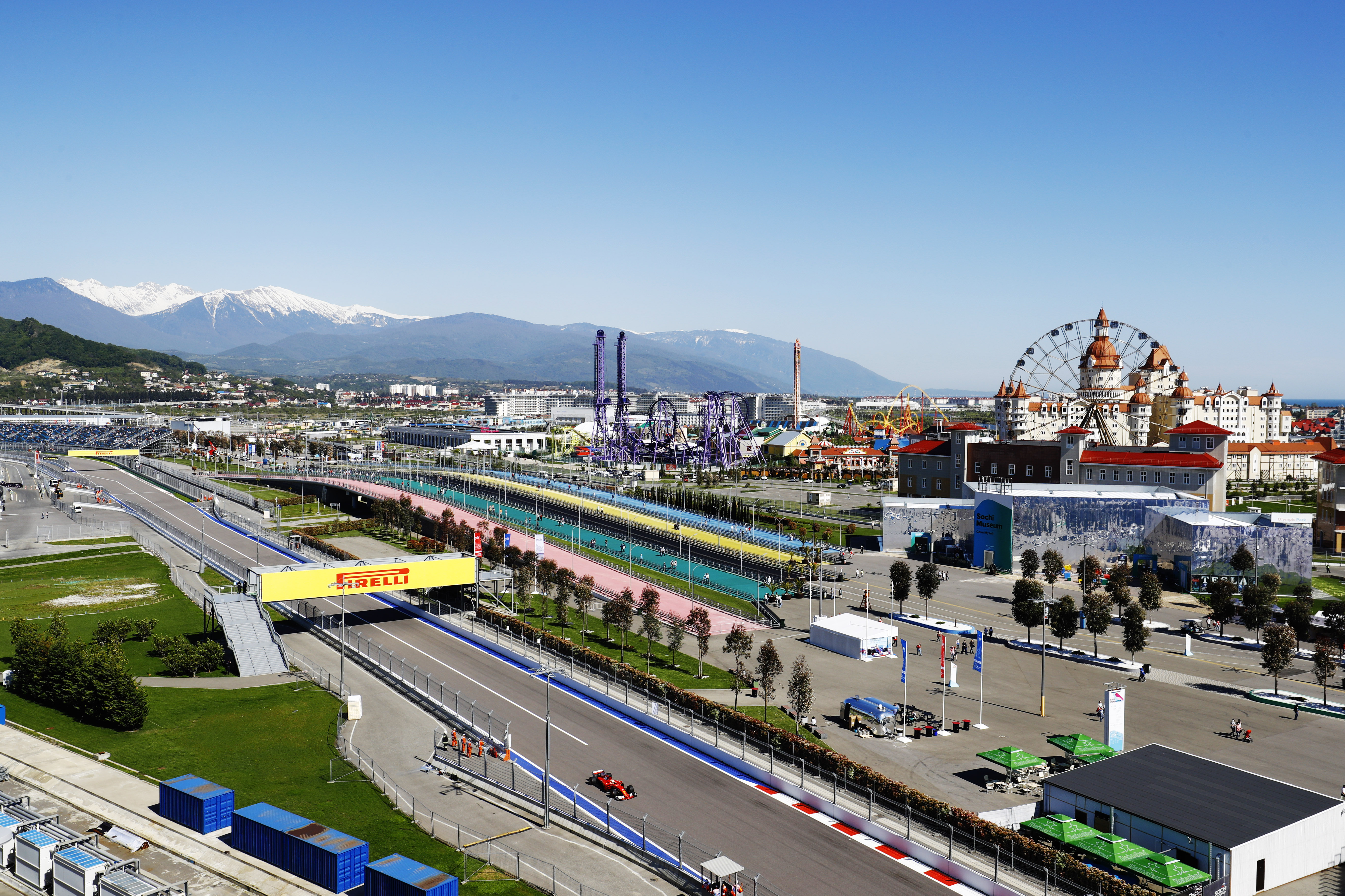 Sochi Autodrom, Sochi, Russia. Friday 28 April 2017. World Copyright: Steven Tee/LAT Images ref: Digital Image _O3I8662