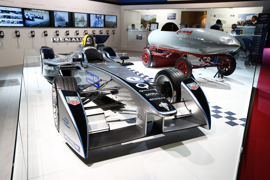 during the 2014 Mondial de l'Automobile, Paris Motorshow, from october 2nd to 19th  2014, France. Photo Gregory Lenormand / DPPI
