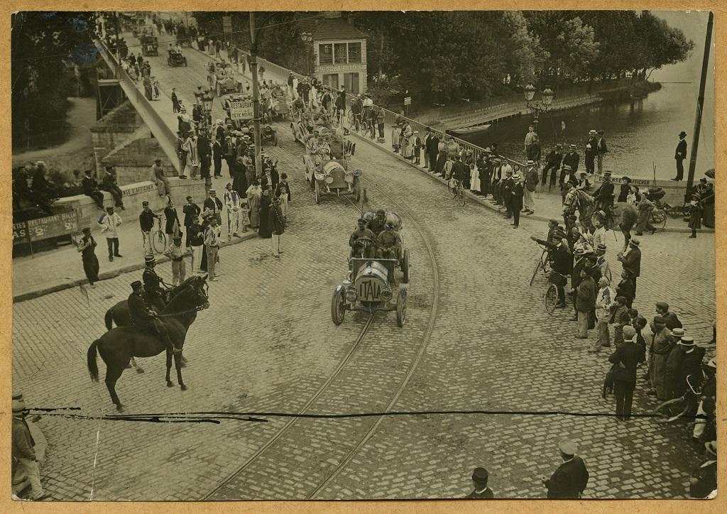 2-L'ingresso vittorioso della Itala a Parigi, Pechino - Parigi 1907