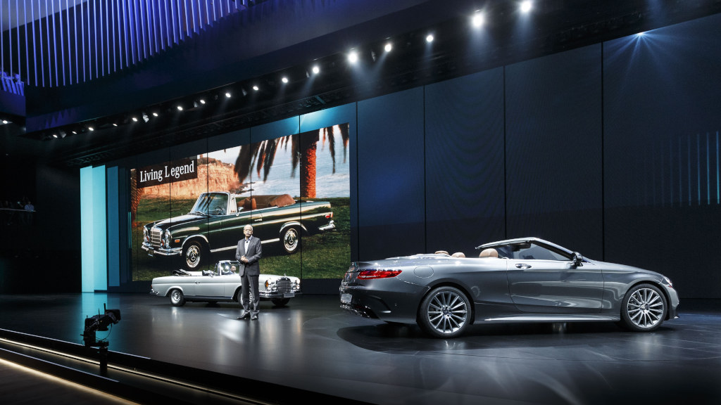 Mercedes-Benz Cars auf der IAA 2015 Mercedes-Benz Cars at the IA