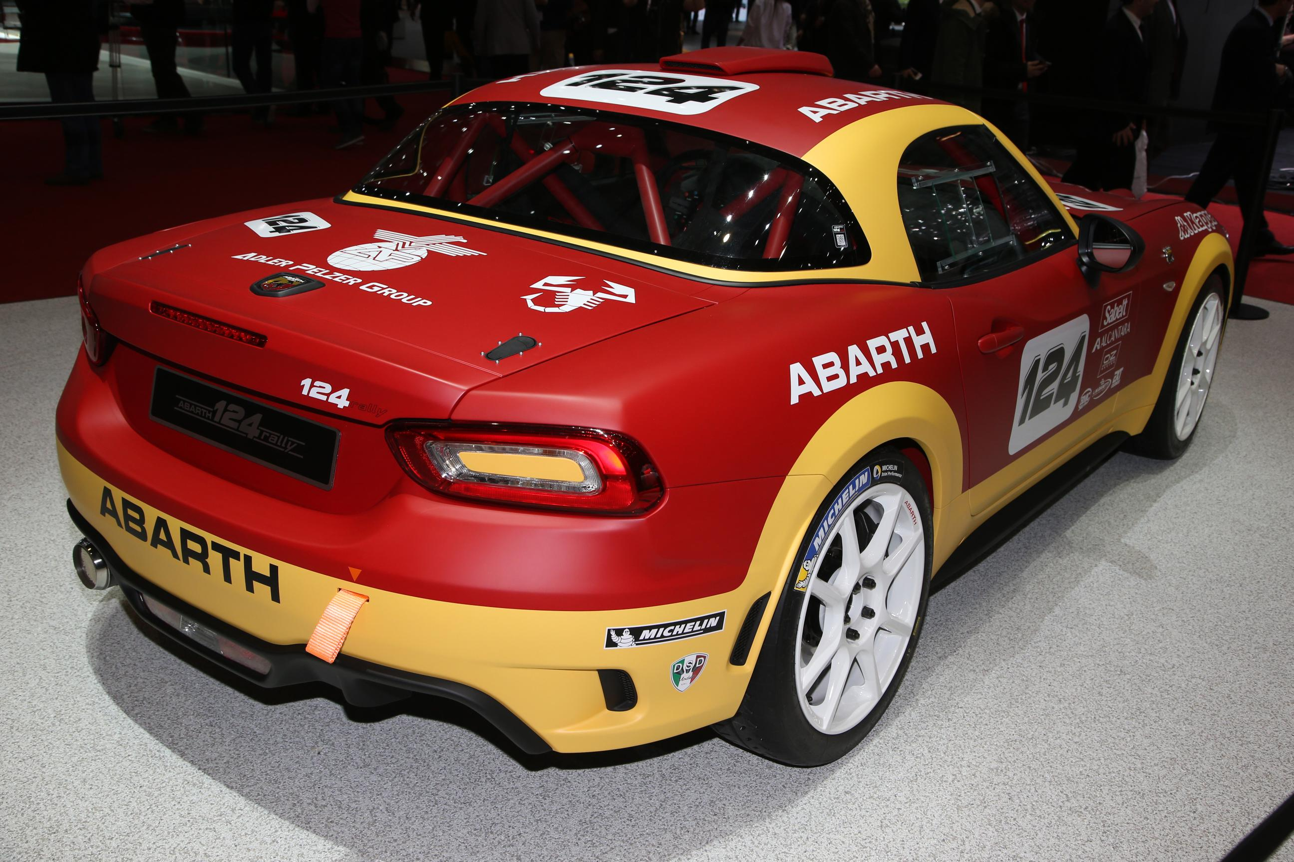 abarth 124 rally 1
