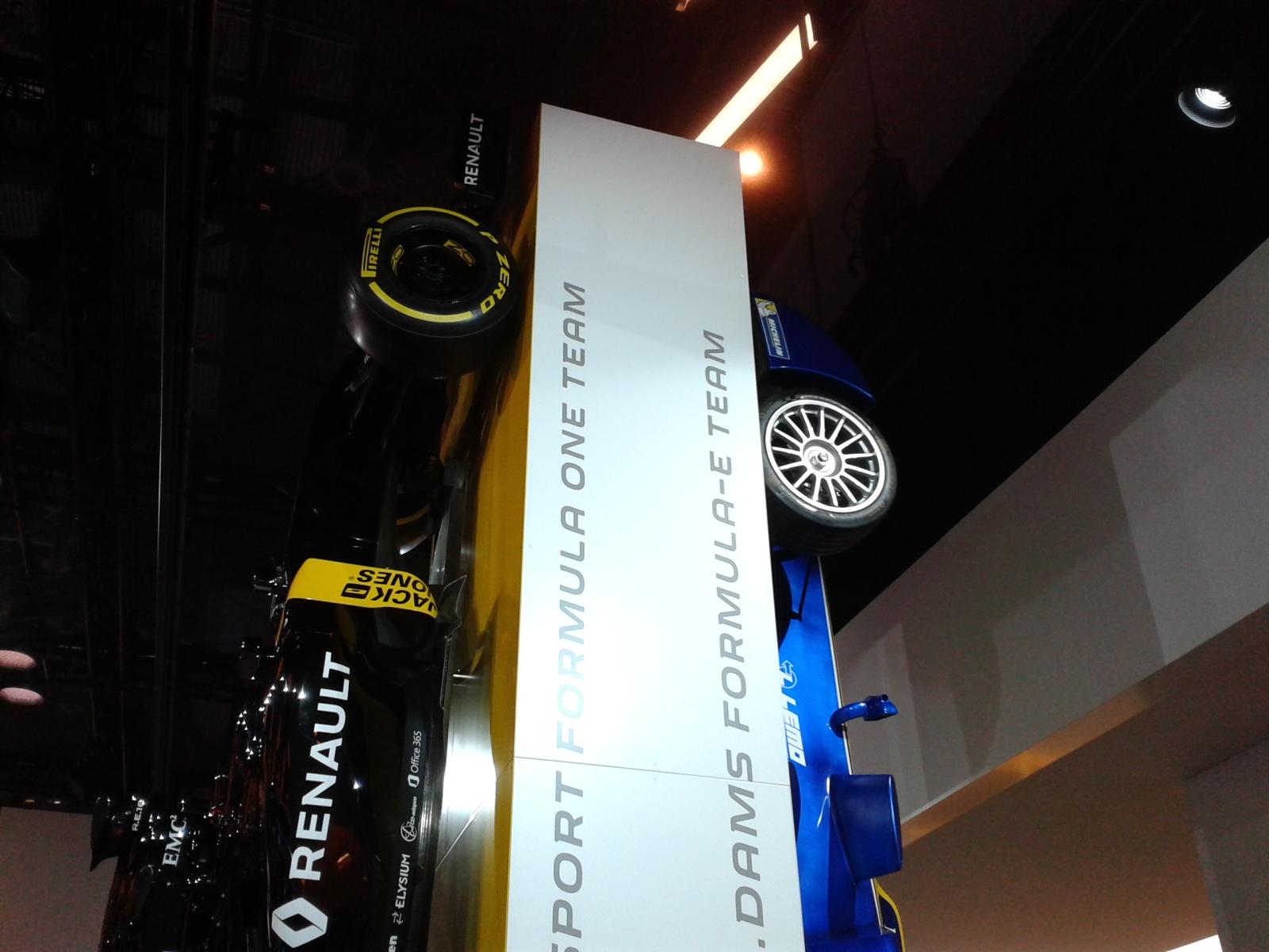 renault F1 e Formula E