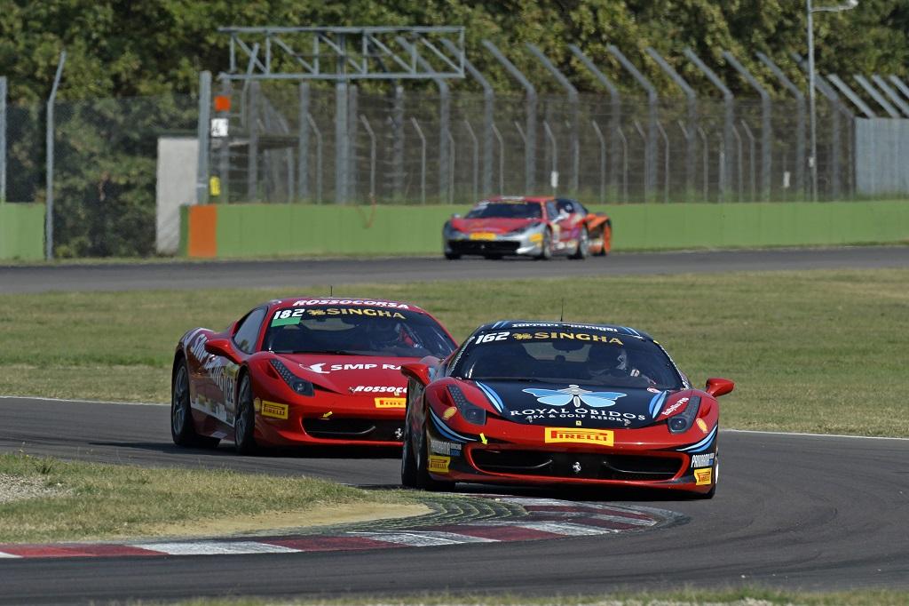 Penultima tappa Ferrari Challenge a Imola