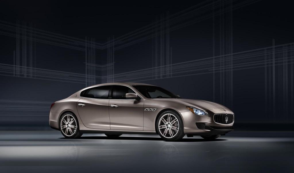 Maserati e Zegna per una Quattroporte unica