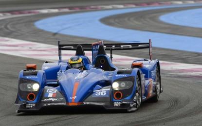 Alpine si prepara alla 24 Ore di Le Mans 2014