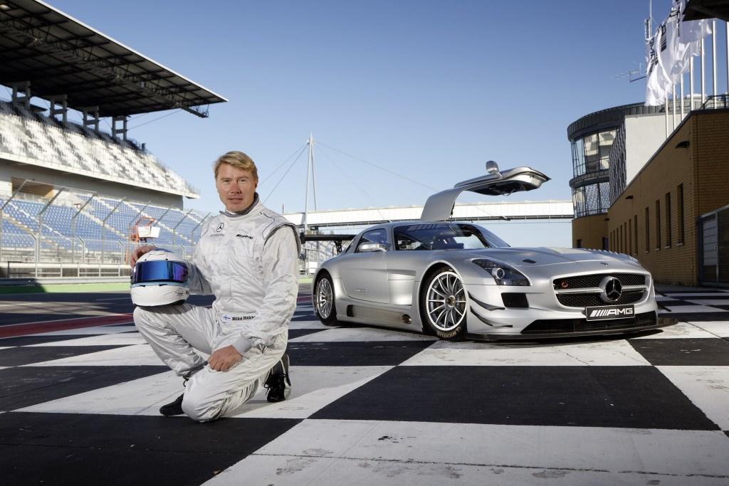Mika Hakkinen torna in pista