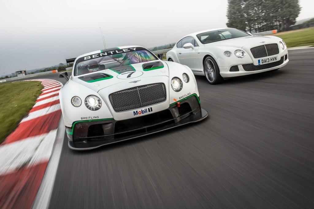 Continental GT3 pronta al debutto in gara