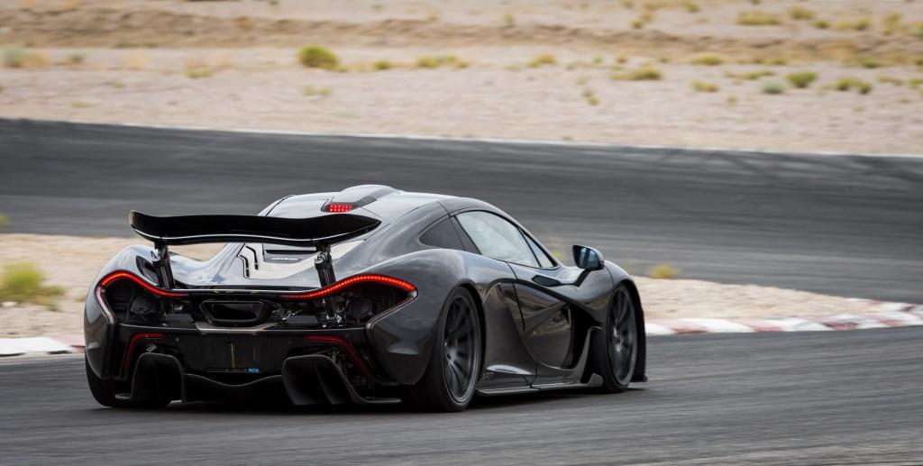 Test in Arizona per la McLaren P1