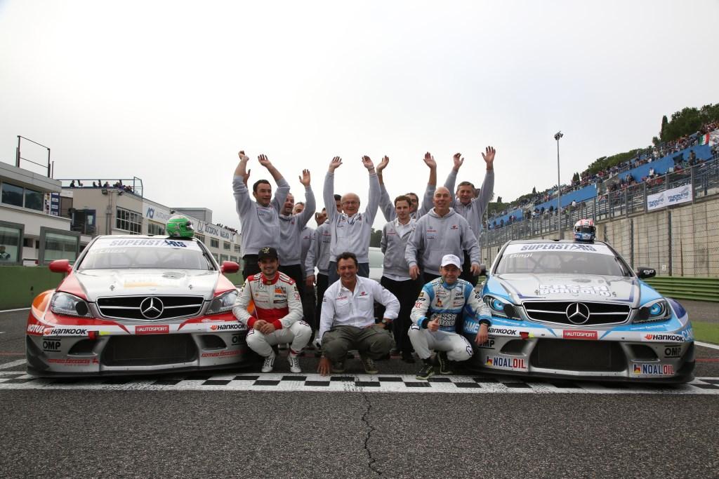 Mercedes-AMG regina della Superstars 2013