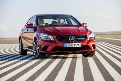 Mercedes-Benz CLA a pieni voti
