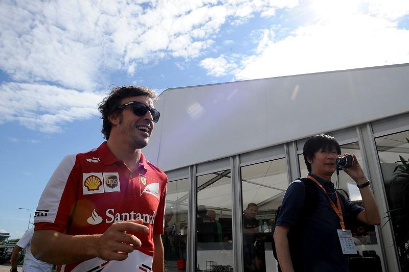 Alonso e Massa belli carichi!