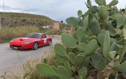 Il mito Ferrari sulle strade della Sicilia