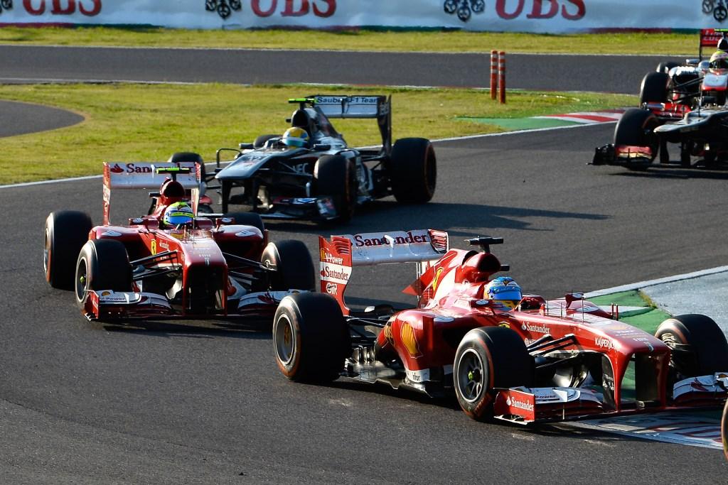 La Ferrari lascia Suzuka con punti preziosi