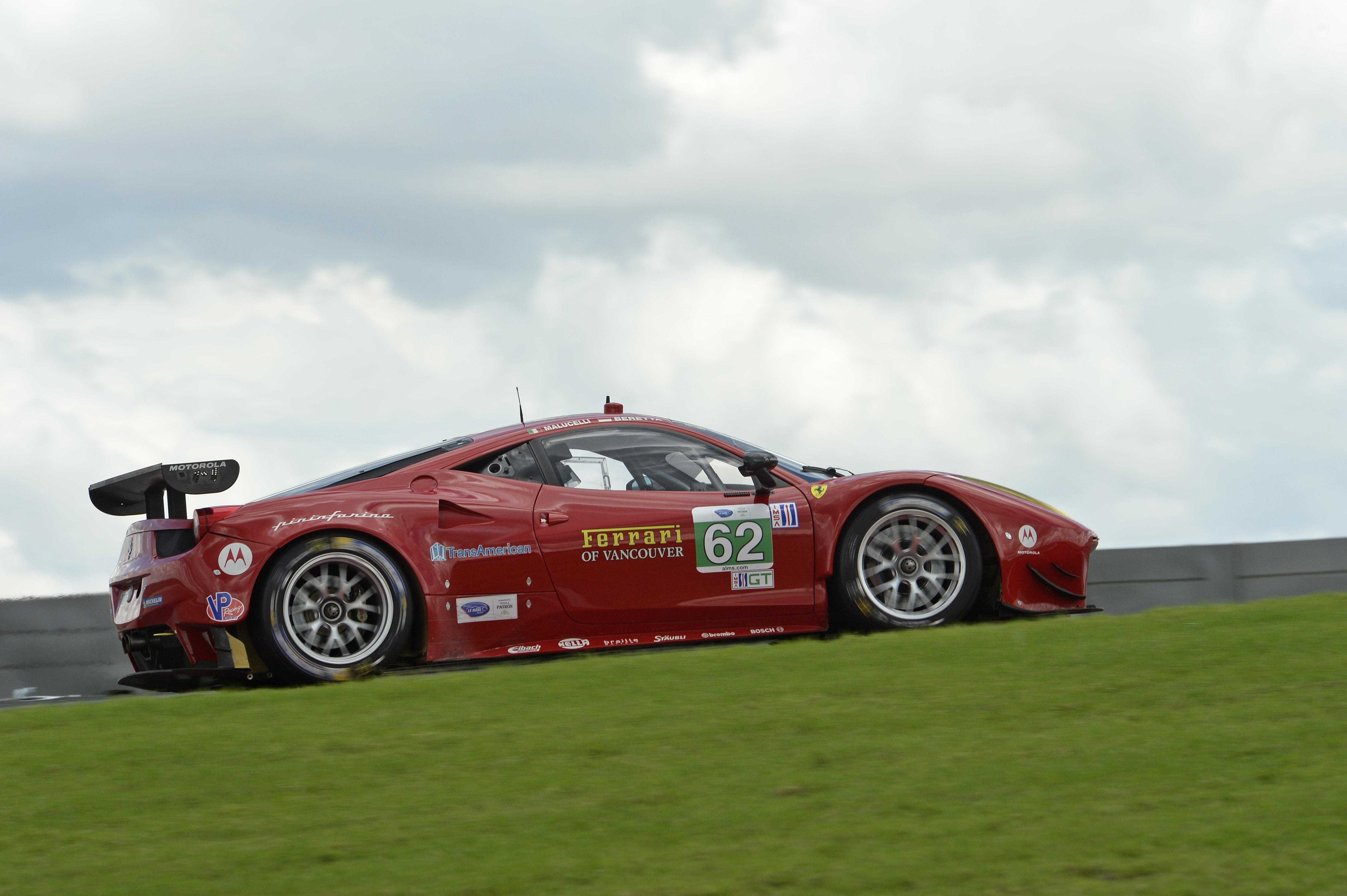 Ferrari a caccia di successi nell'ultima gara ALMS