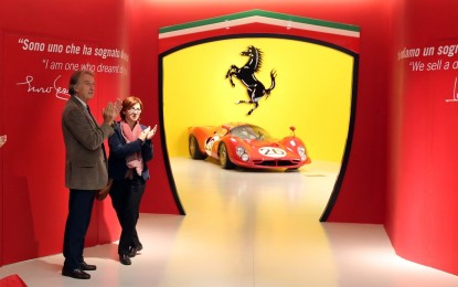 Lo spirito sportivo Ferrari in una mostra unica