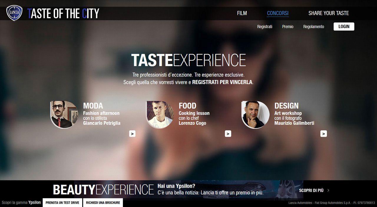 """Lancia Ypsilon protagonista di """"Taste of The City"""""""