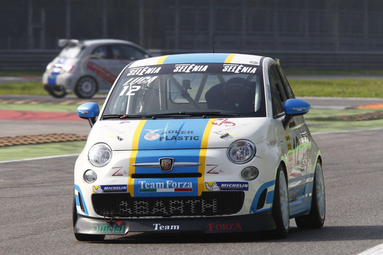 Trofeo Abarth: a Monza miglior tempo di Campani