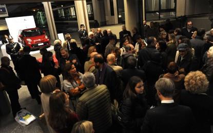 Fiat 500L e Renoir alla Galleria d'Arte Moderna di Torino