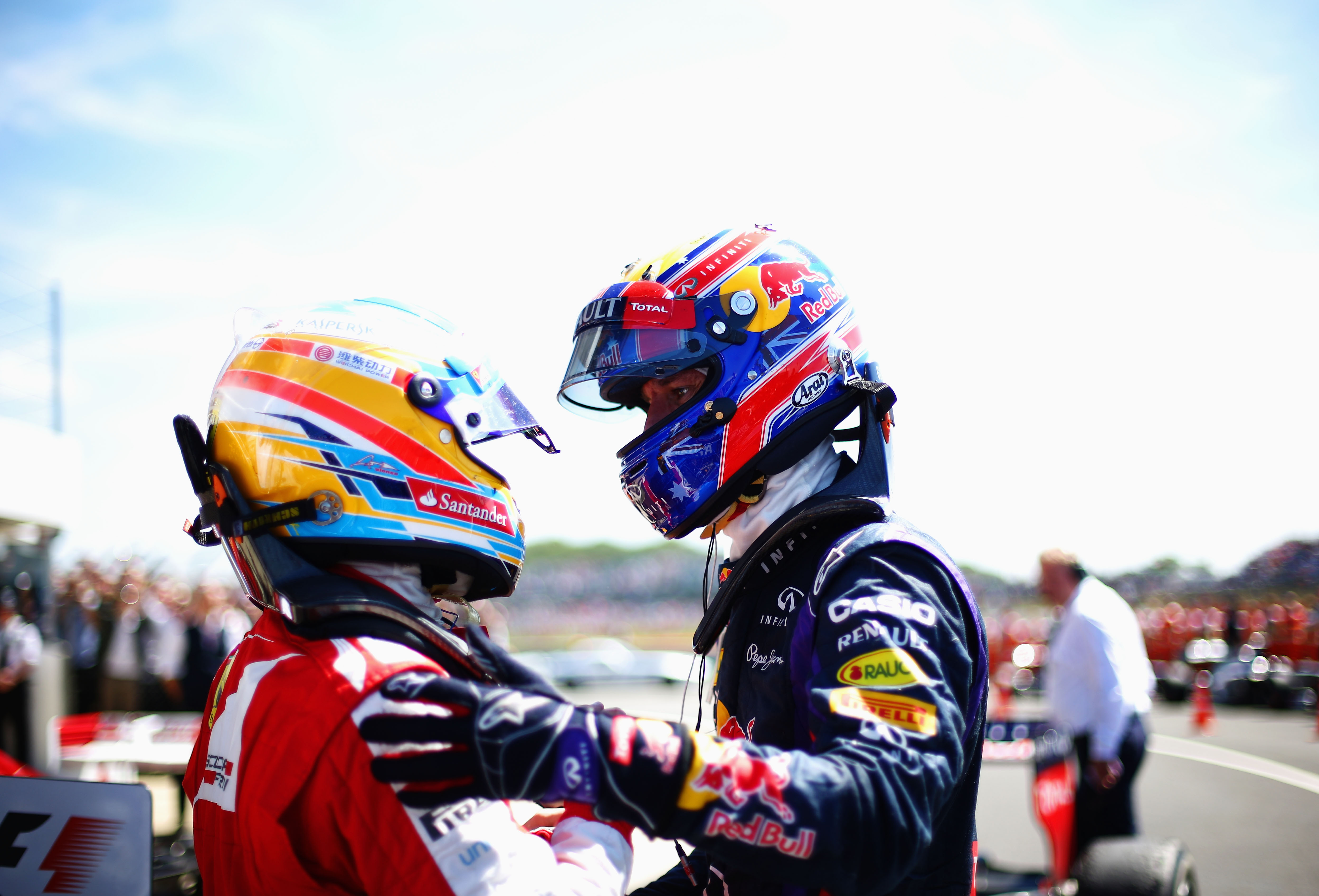 Webber e Alonso, attacco alle gomme