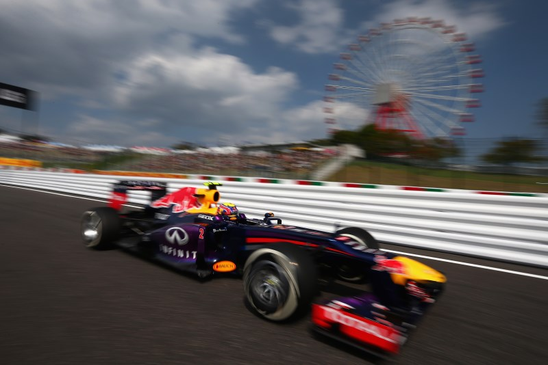 Red Bull Racing in pole, ma con Mark Webber