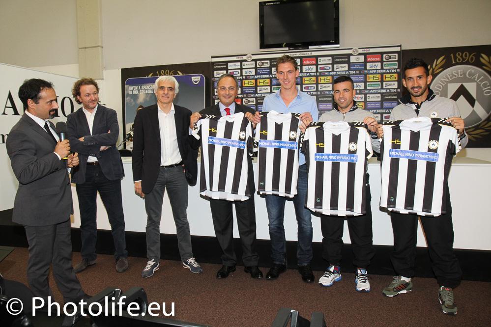 """Dacia e gli """"sponsor per un giorno"""" dell'Udinese"""