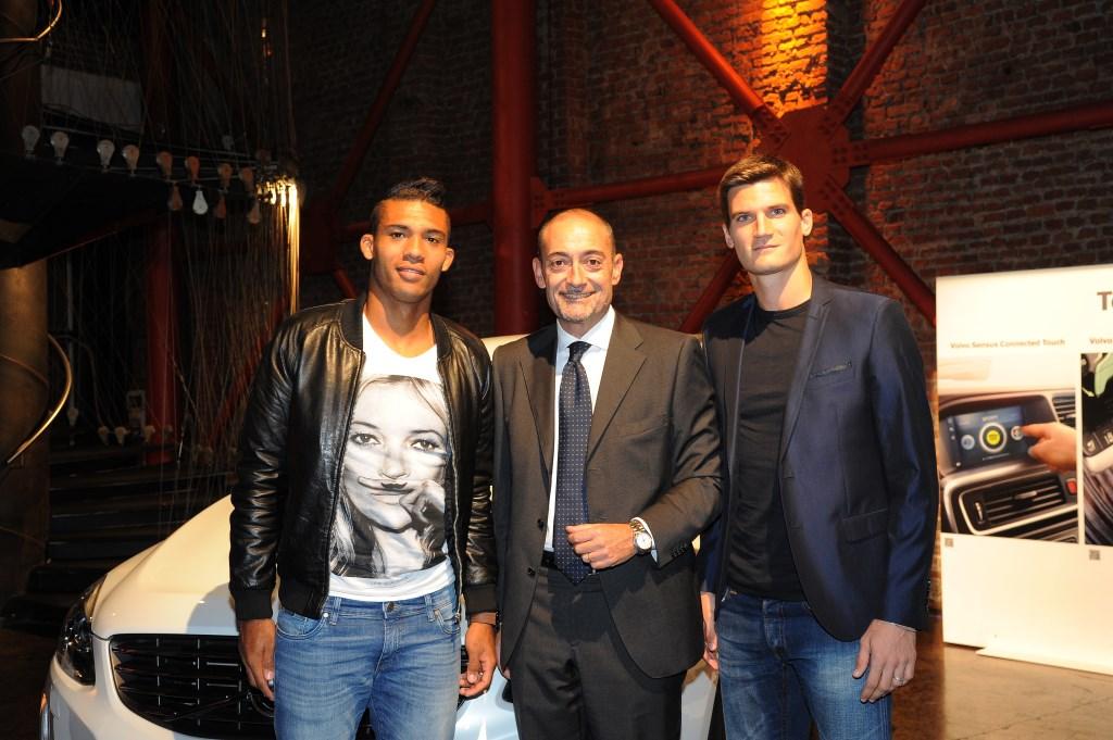 Metti una sera con Volvo, Juan Jesus e Marco Andreolli…