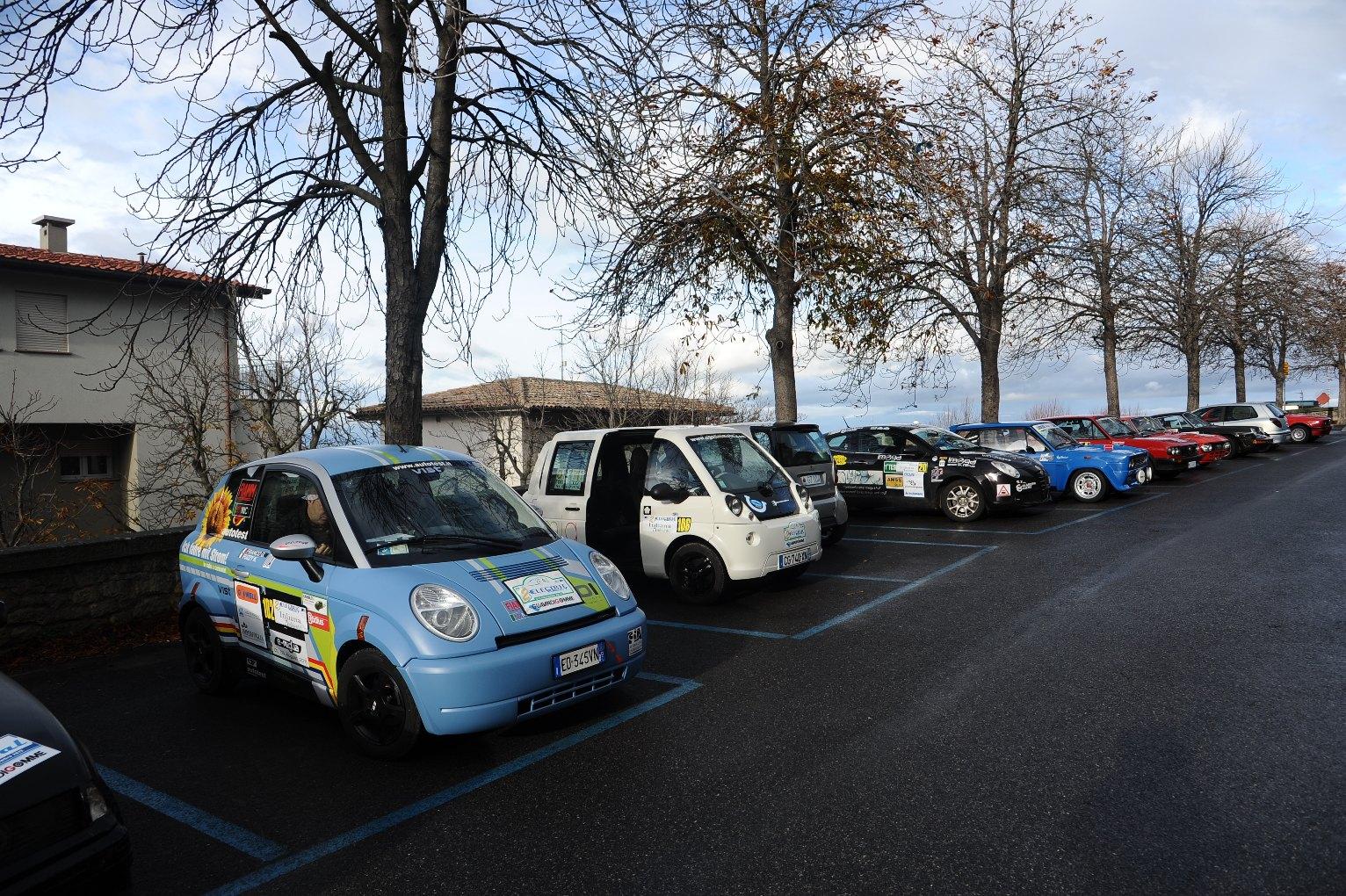 Electricrally San Marino: sfida tra elettriche e ibride