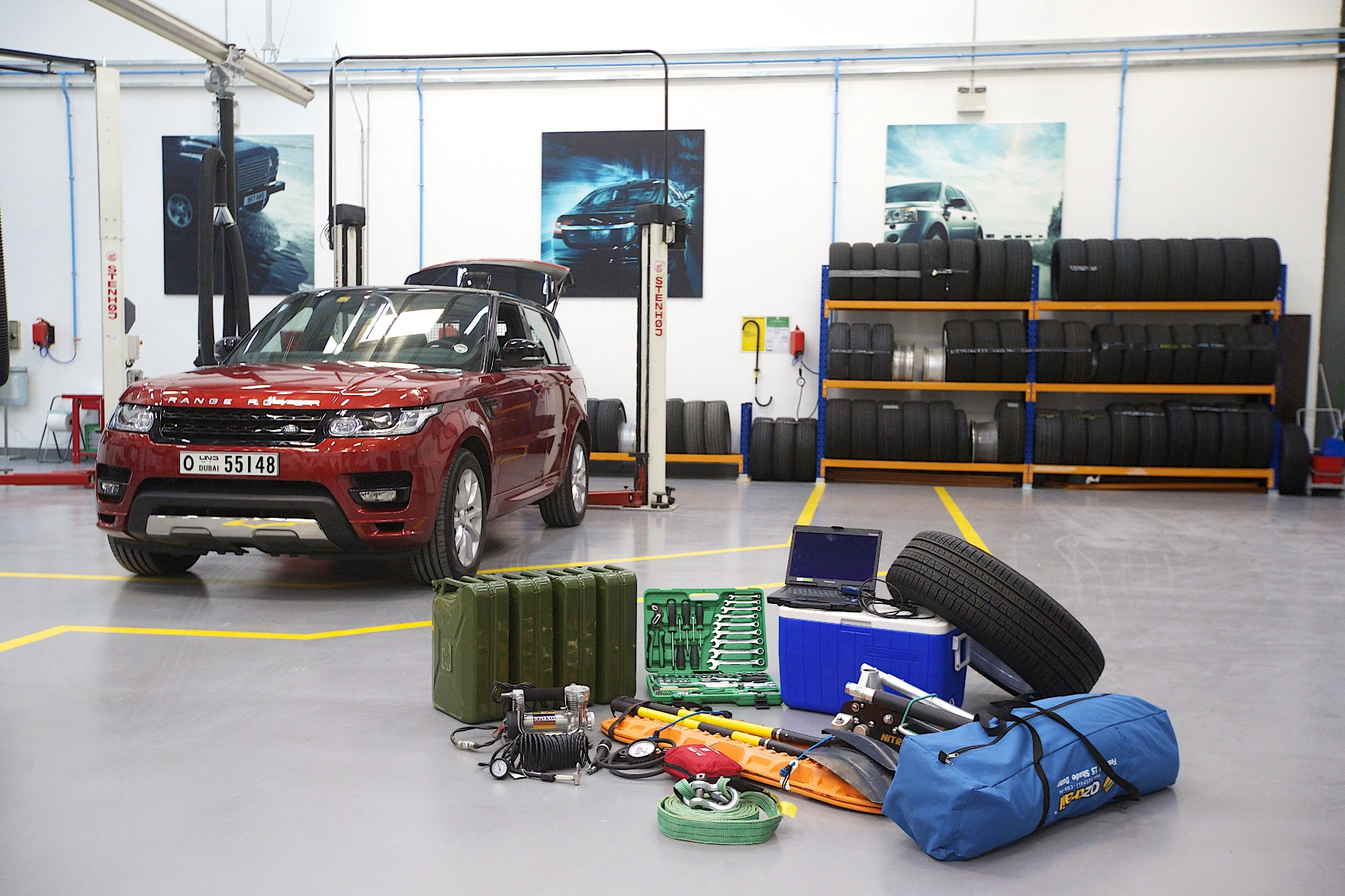 La Nuova Range Rover Sport sfida l'Empty Quarter