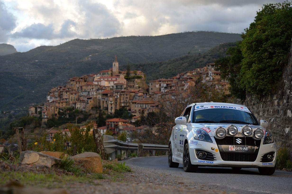 """Suzuki Rally Cup: a Uliana il """"Sanremo"""", ad Amorisco il trofeo"""