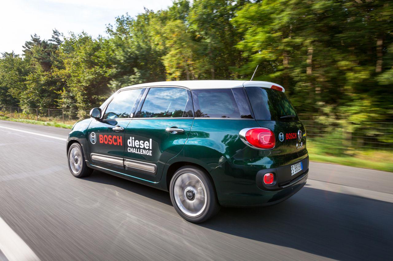 Fiat 500L Living supera la Bosch 'Diesel Challenge'