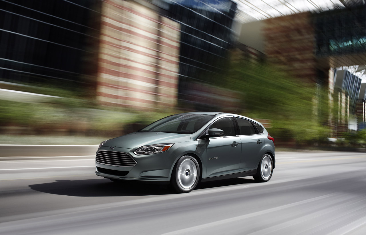 Ford Focus Electric a Palermo