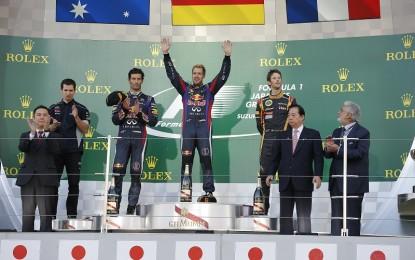Renault abbonata al podio, anche a Suzuka