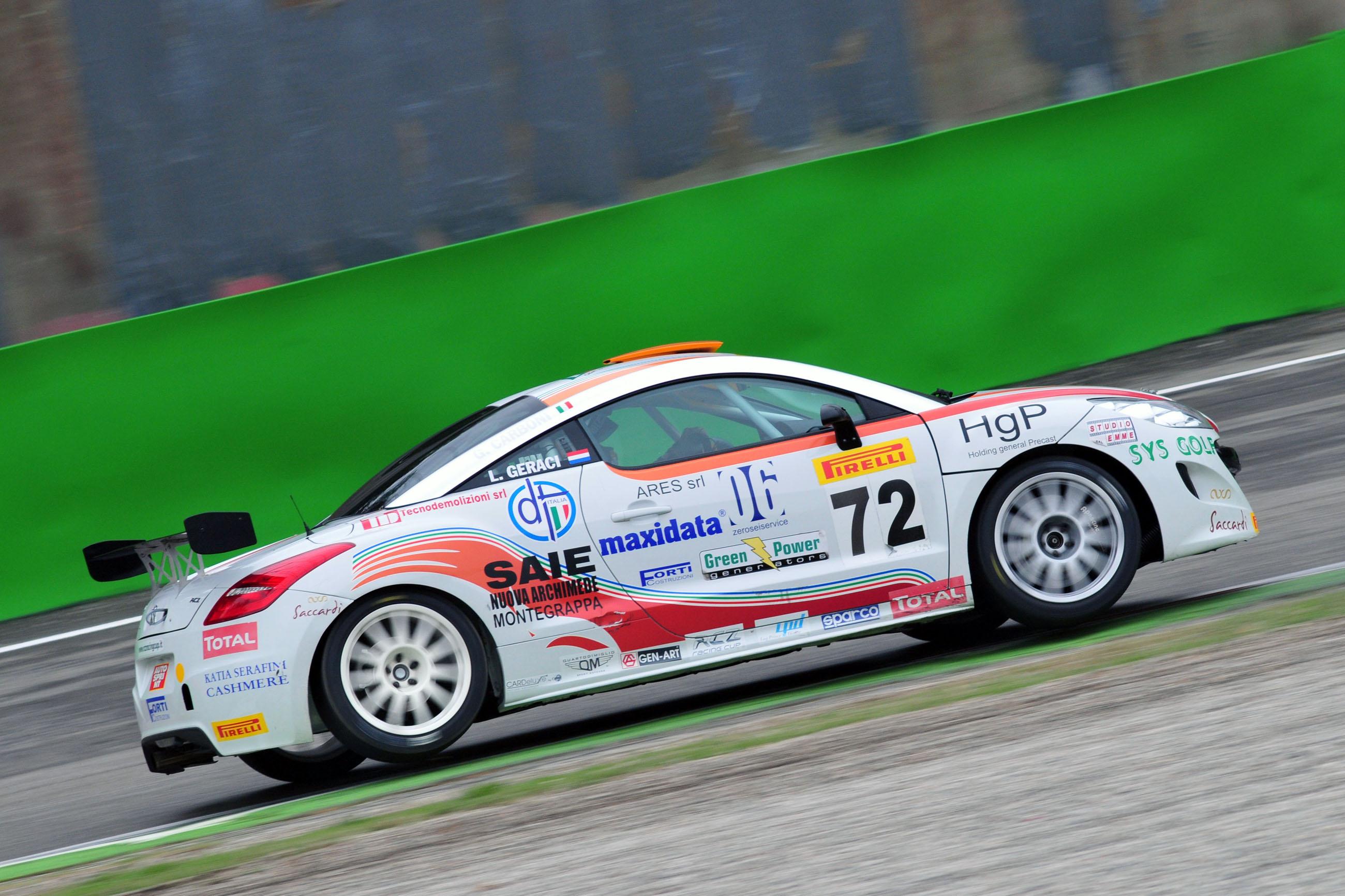 Trofeo Peugeot RCZ: doppietta e Titolo per Geraci