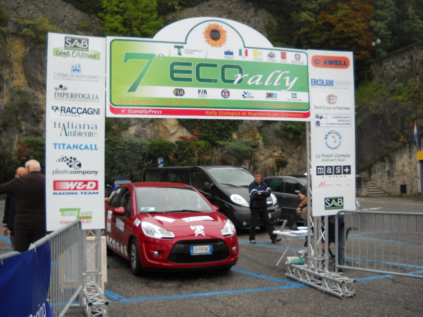 -10 all'Ecorally, 520 km a basso impatto