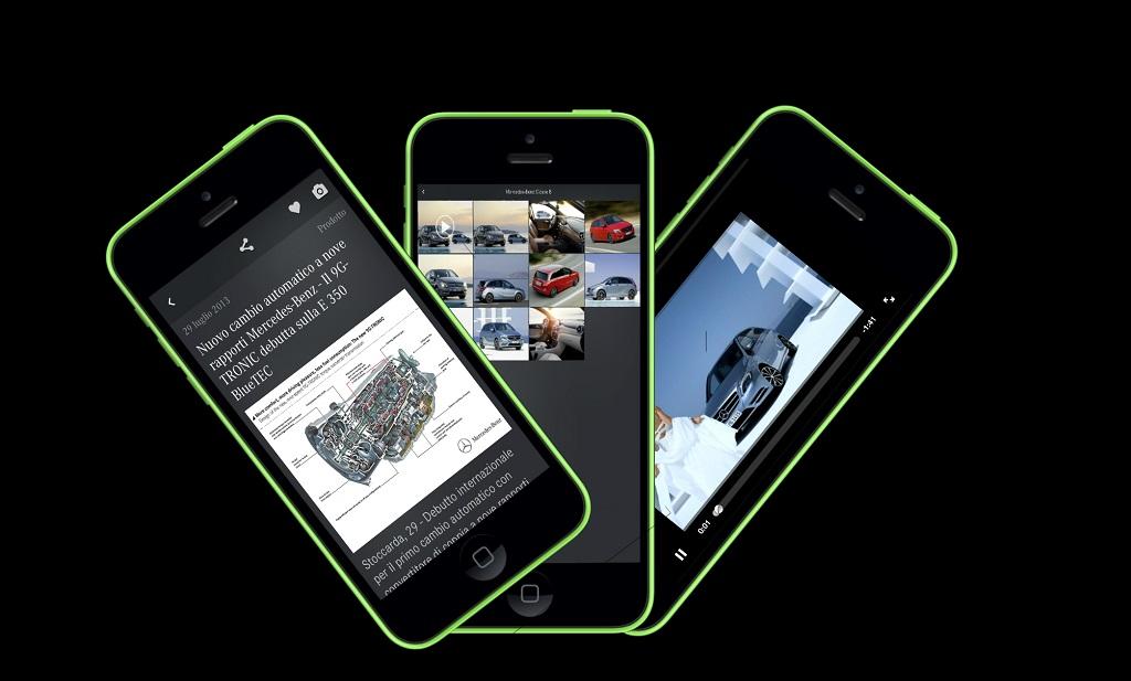 App MercedesNews e MercedesTech