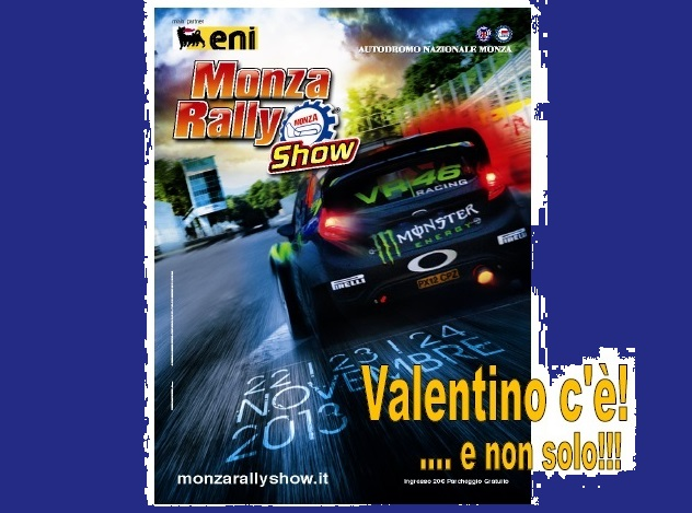 Monza Rally Show: save the date!