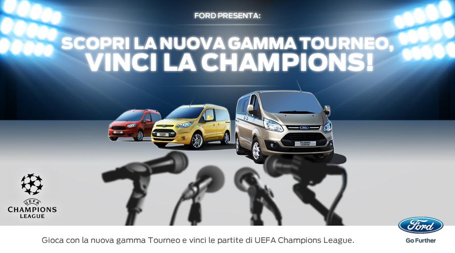Operation Tourneo e vinci la UEFA Champions League
