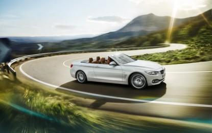 Nuova BMW Serie 4 Cabrio