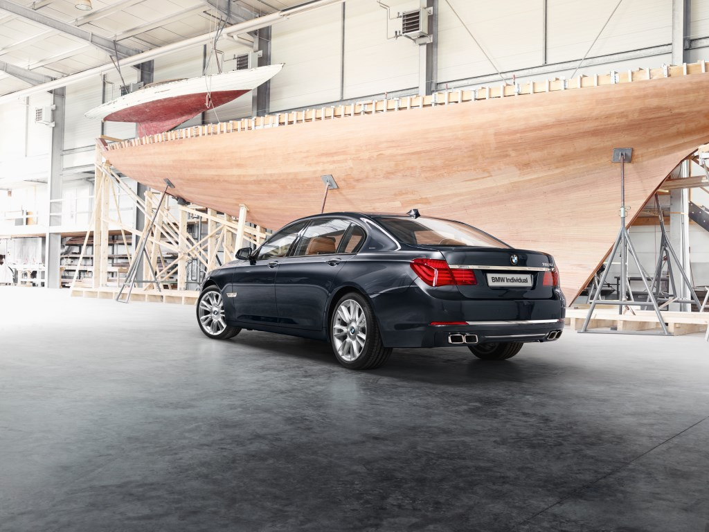 BMW 760Li Sterling ispirata da ROBBE & BERKING