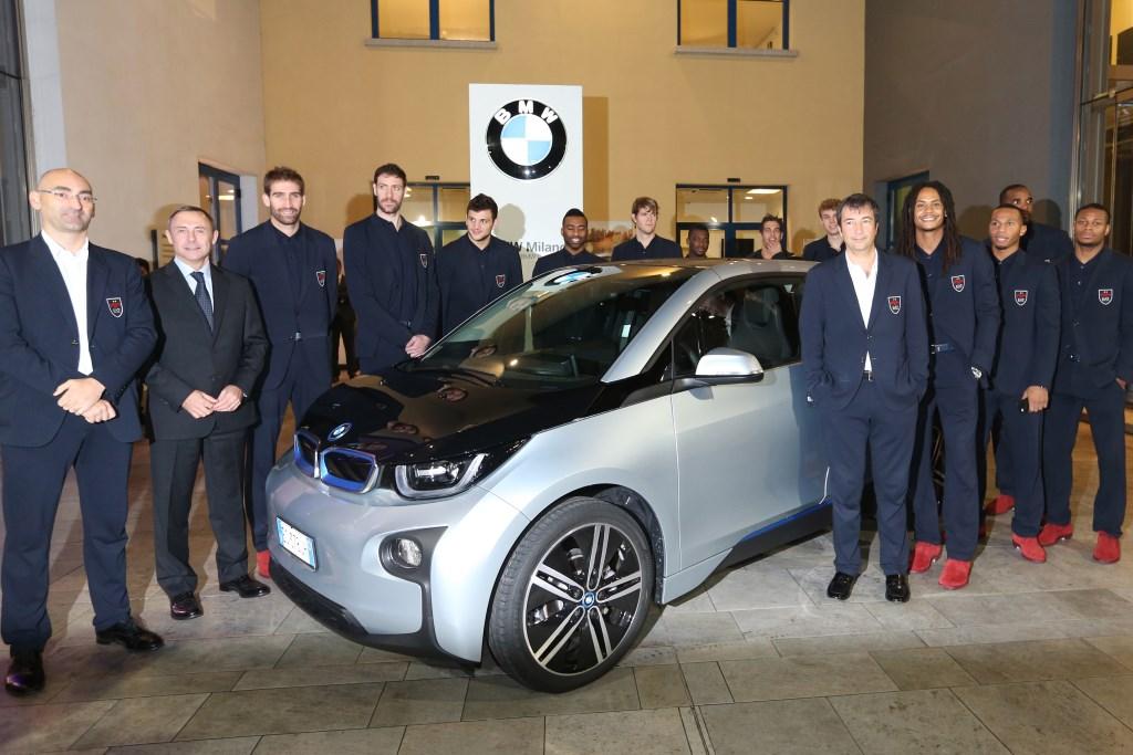 BMW Milano sponsor EA7 Olimpia Milano
