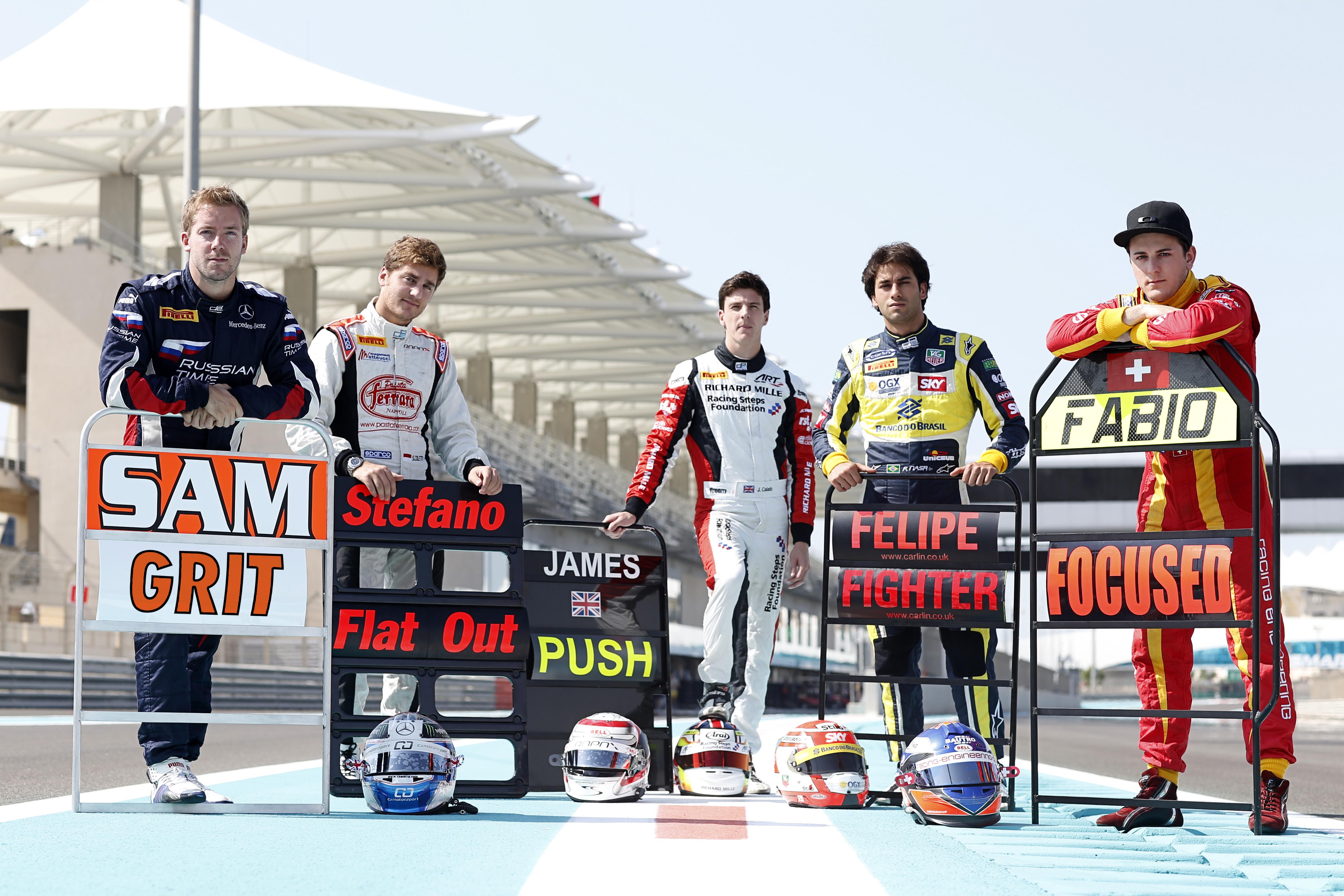 GP2 Series: Leimer, Bird, Nasr, Coletti e Calado al rush finale