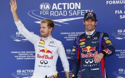 Webber su Vettel e il loro ex-team