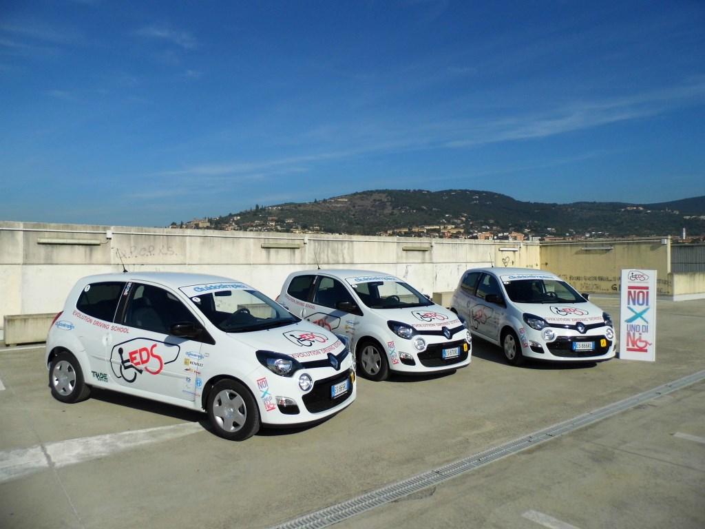 Renault e 'Uno Di Noi' partner nei corsi di guida per disabili
