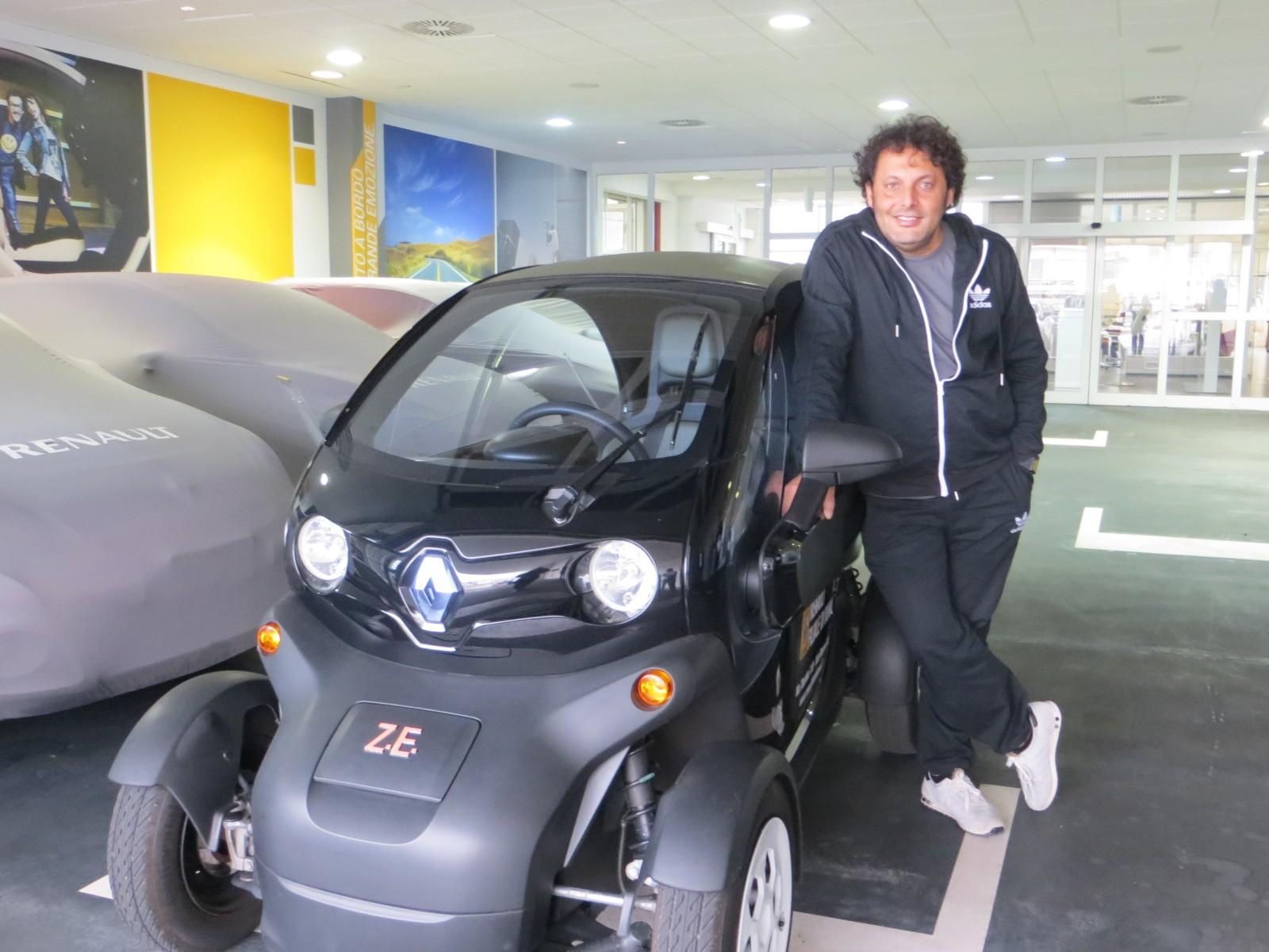 Renault con Rugantino al Sistina di Roma