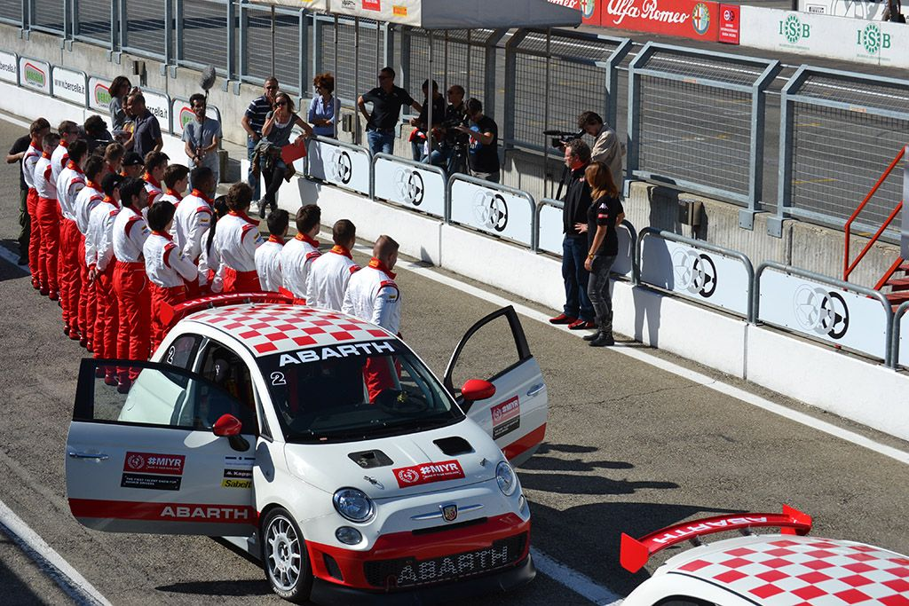 'Abarth Make It Your Race' in onda dal 18 novembre